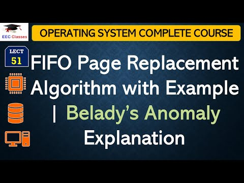 FIFO Page Replacement Algorithm with Example | Belady's Anomaly Explanation