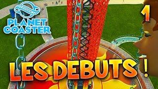 Planet Coaster - Ep.1 : Les débuts !! - Let's Play avec Fanta PC FR HD