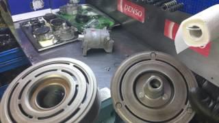 Nissan Teana. Відновлення муфти компресора кондиціонера.