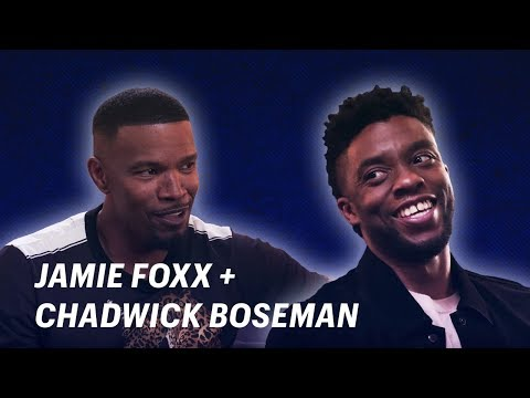 Jamie Foxx Talks Black Panther with Chadwick Boseman    OFF SCRIPT a Grey Goose Production