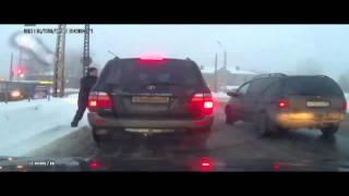 Мажорик был наказан за хамство на дороге
