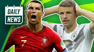 Ronaldo vs Suarez! Messi vor dem Aus, Müller und Hummels drohen Sperren! Bayern will Benzema nicht!