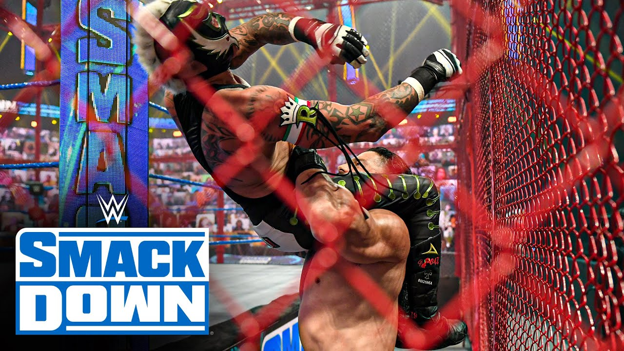 Download Roman Reigns vs. Rey Mysterio - Universal Title Hell in a Cell Match: SmackDown, June 18, 2021
