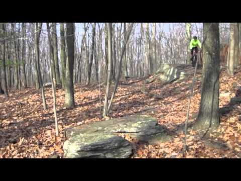 Moon Lake Park Mountain Bike Trails, NEPA