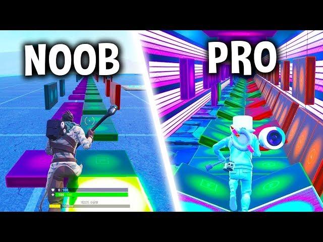 Making Popular Songs with Music Blocks in Fortnite! (Noob vs Pro)