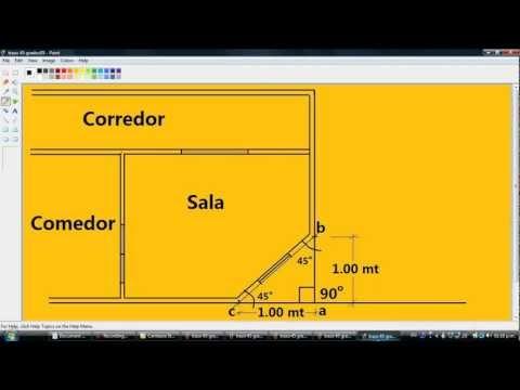drywall-collins-construye-█▓▒░-como-hacer-un-trazo-de-45-grados.