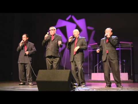 Fenny, Sal, Bob and Edgar from The Classic Harmony Perform at Halo-Halo Holiday Special Concert