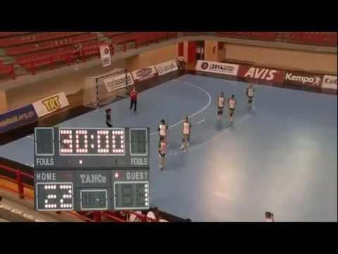Bulgaria   Estonia 37:12 Group B   Women's Challenge Trophy LARISSA 2014
