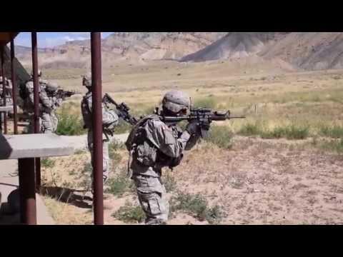 Colorado National Guard at Grand Valley Shooting Range