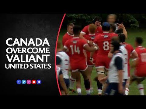 Canada U20 v USA U20 | Highlights: Canadians impress in U20 Trophy qualifier
