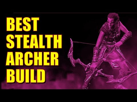 Skyrim Remastered - BEST STEALTH ARCHER BUILD! (Level 30, Super Sneaky, Ready For Dragons)