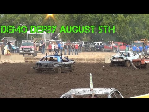 Benton County Demo Derby 2017 (August 5th)