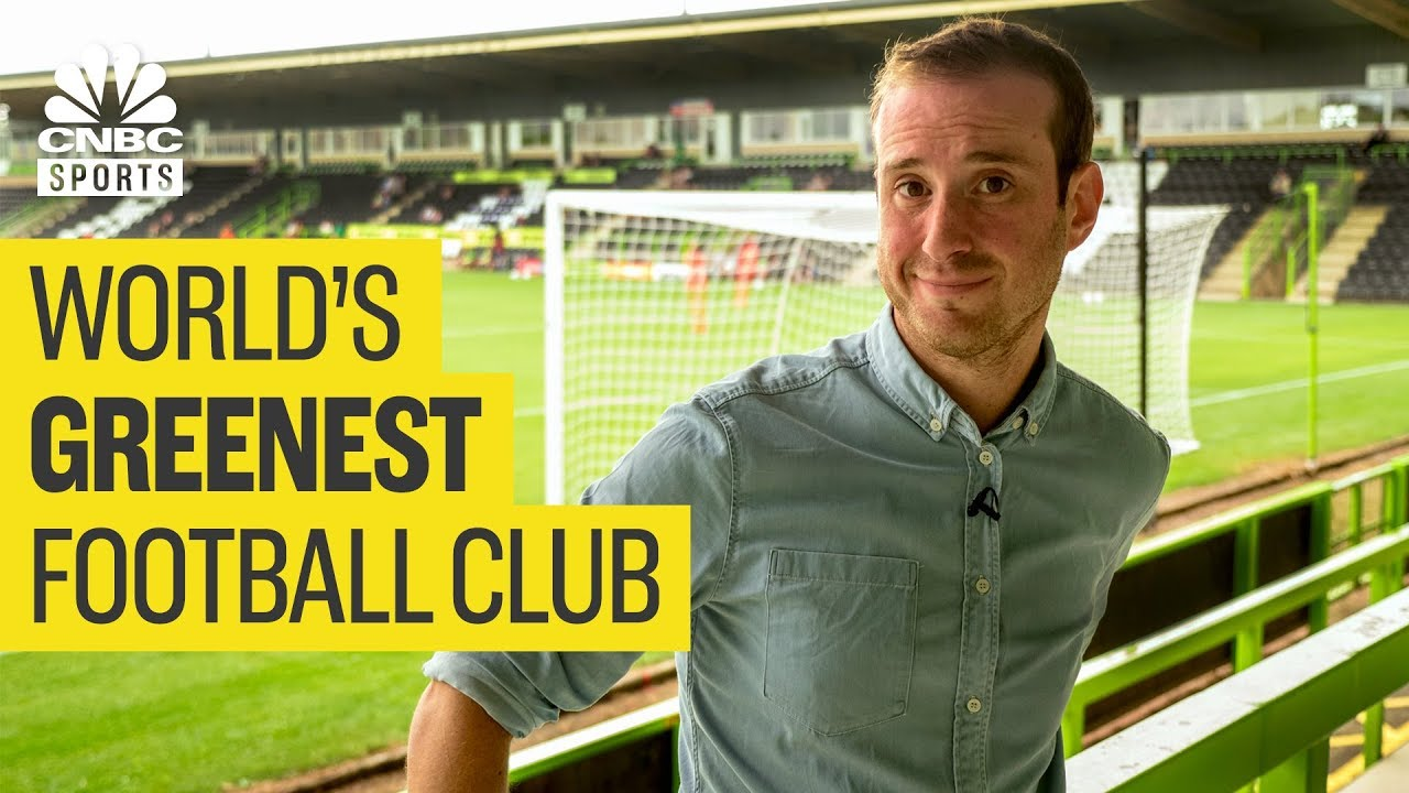 The world's first carbon-neutral football club | CNBC Sports