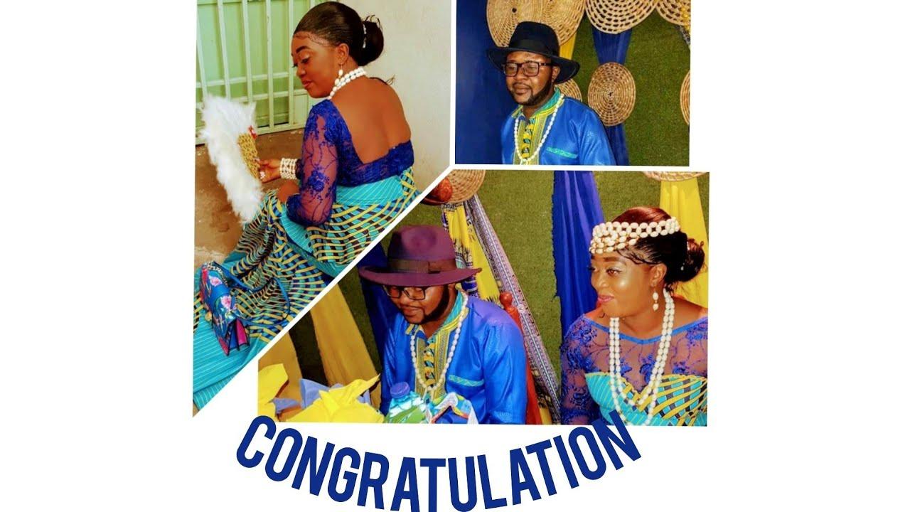 Download Mariage coutumier 💑 Irene Michelle chez GG TV SHOW congratulations 🥂🍾🍾🎊🎉💫🥳🥳🥳