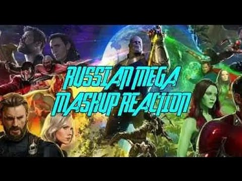 [REUPLOAD]Avengers: Infinity War - Official Trailer | RUSSIAN MEGA REACTION MASHUP