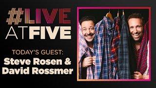 Broadway.com #liveatfive With Steve Rosen And David Rossmer