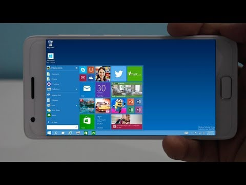 How To Install/Run WINDOWS 10/8.1/8/7/XP On Android Phone
