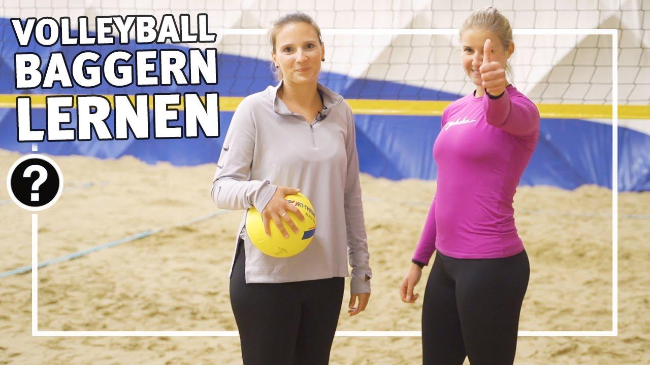 Volleyball Baggern Lernen Ubungen Annahme Und Zuspiel Schulsport Vereinssport Sport Thieme Youtube