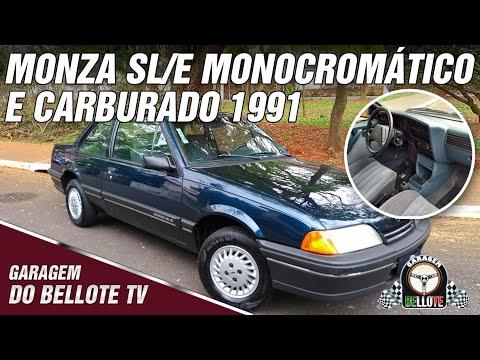 Monza SL/E Monocromático E Carburado | Garagem Do Bellote TV