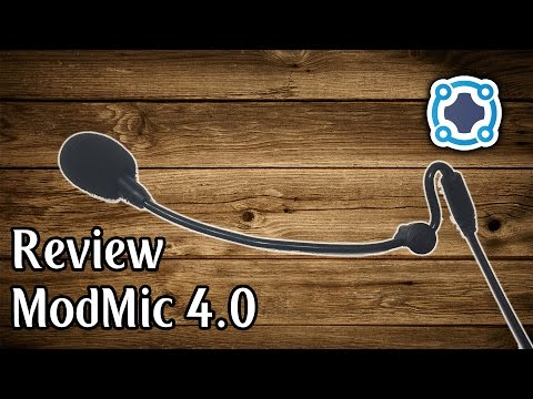 Review - Antlion ModMic 4.0 - The Best Headset Mic EVER!!!