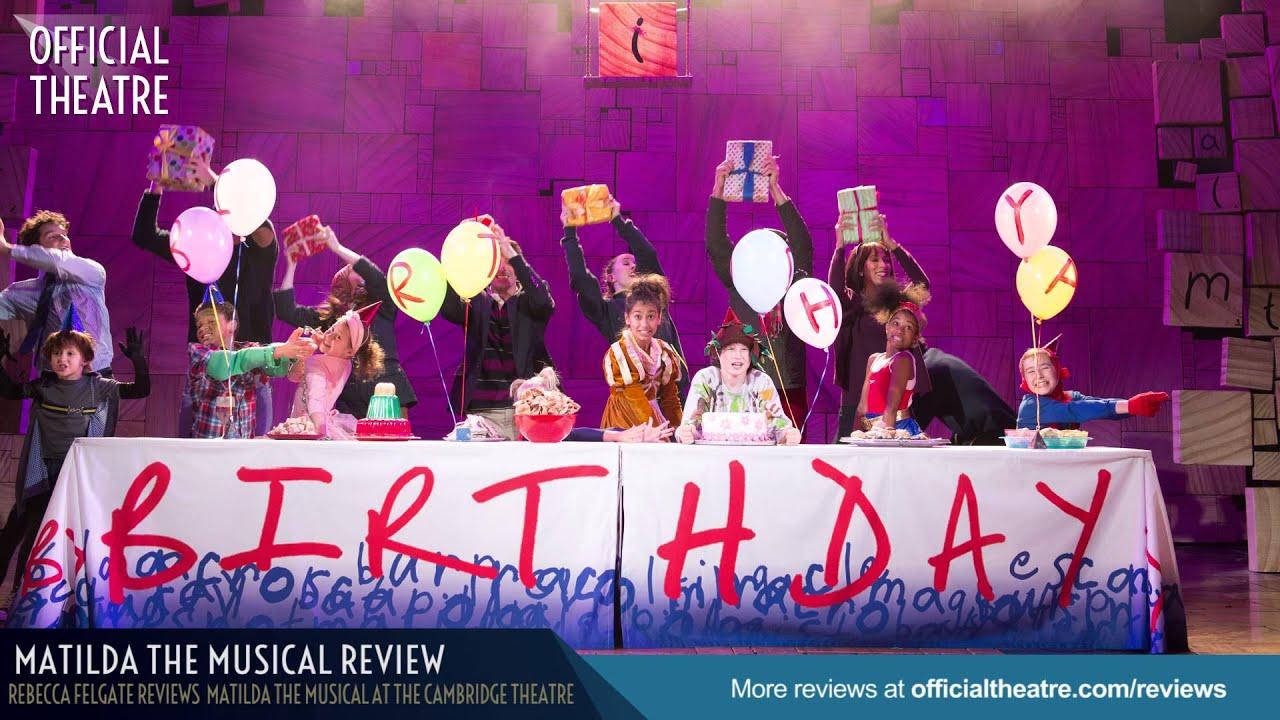 matilda the musical reviews