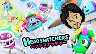Gang Beasts Meets Japanese Game Show! - Headsnatchers with Chris and Taylor