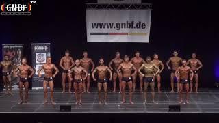 Men`s Classic Physique 16. GNBF Deutsche Meisterschaft 2019
