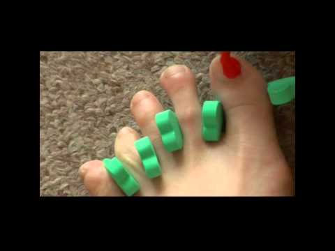 C mo pintarse las u as del pie youtube - Como pintarse las unas ...