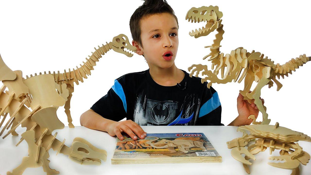 Игрушки Динозавры Развивающее Видео для Детей Видео про Динозавров Мир Юрского Периода