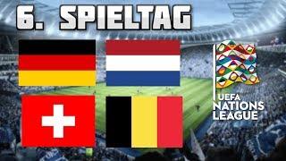 Deutschland - Niederlande, Schweiz - Belgien | Nations League 6. Spieltag Prognose/Tipp
