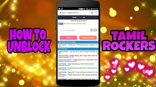 HOW TO UNBLOCK TAMILROCKERS IN MOBILE