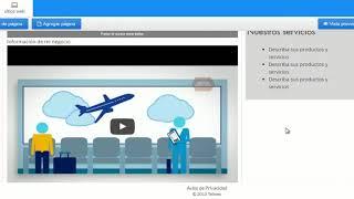 Personaliza y optimiza tu Página Web de Telmex