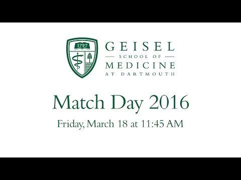 Geisel School of Medicine Match Day 2016