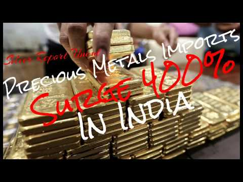 Silver and Gold Demand Sees India Precious Metals Imports Surge 400%