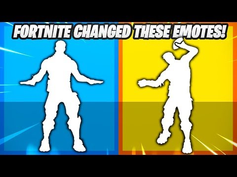 These 7 Emotes Were Changed Before they got Released..!