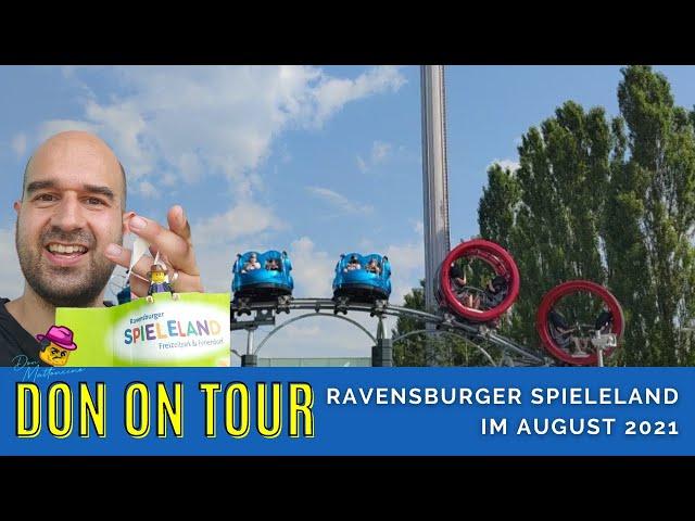 Impressionen aus dem Ravensburger Spieleland l Don on Tour l Feel Good Video l August 2021
