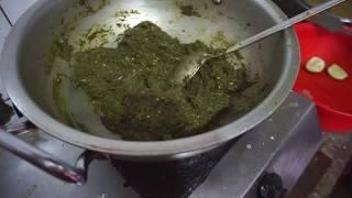 how to cook kochu shak and Hilsha fish | bangali Spicy Recipe