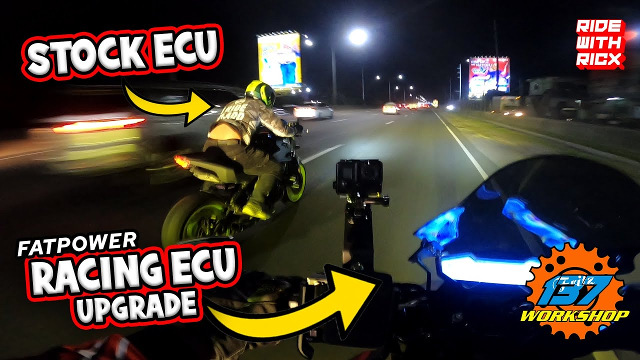 FATPOWER RACING ECU installed on CFMOTO NK400 | 137 WORKSHOP | RIDE with RICX | PART 1