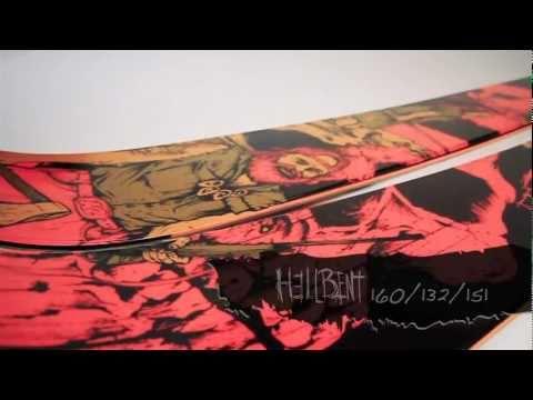 2011 - 2012 K2 Hellbent ski with Powder Rocker reviewed by Pep Fujas