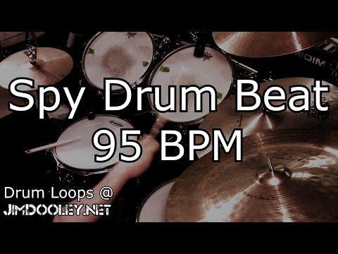 [20 Minute Beat] Spy Beat 95 bpm - Variation 1
