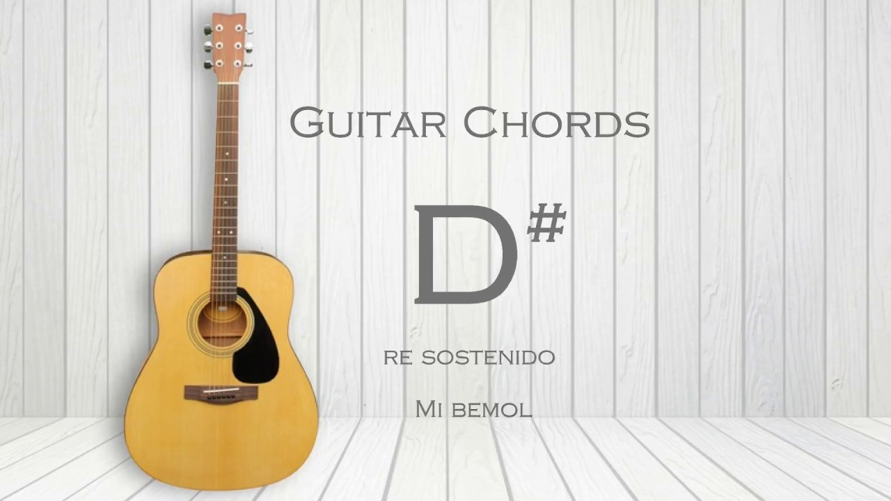 How To Play D Eb Guitar Chord Youtube