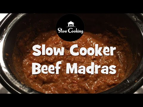 The Best Slow Cooker Beef Madras