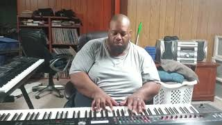"""This is It"" (Kenny Loggins) (piano) performed by Darius Witherspoon (8/11/18)"