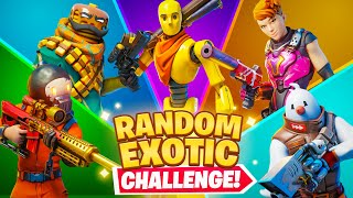 The *RANDOM* EXOTIC Boss Challenge!