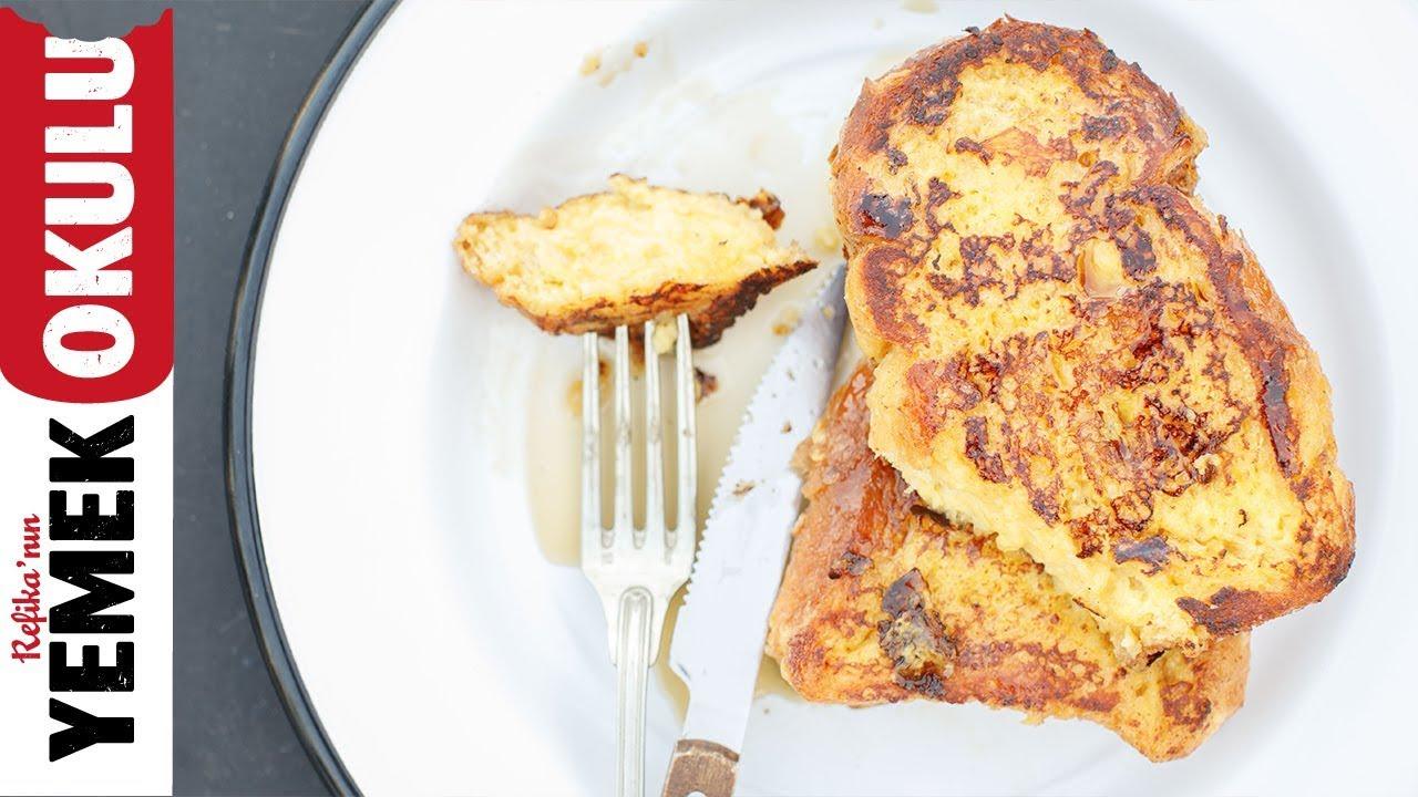 Yumurtalı Ekmeğin Gelebileceği En Üst Nokta | Fransız Tostu | French Toast | Kahvaltı Tarifleri