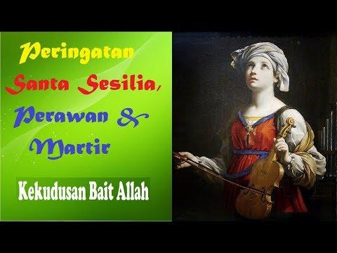 Santa Sesilia, Perawan dan Martir
