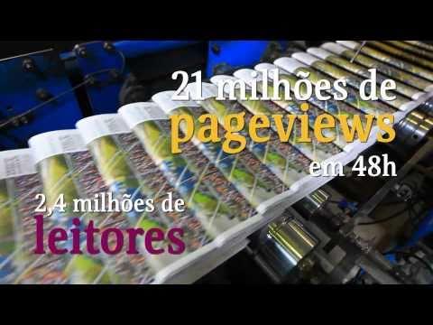 """Folha de S. Paulo, 90 anos -  Documentário """"Toda a Folha"""""""