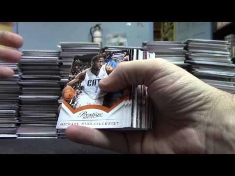 2013/14 Prestige Basketball 12 Box case GB 1/2