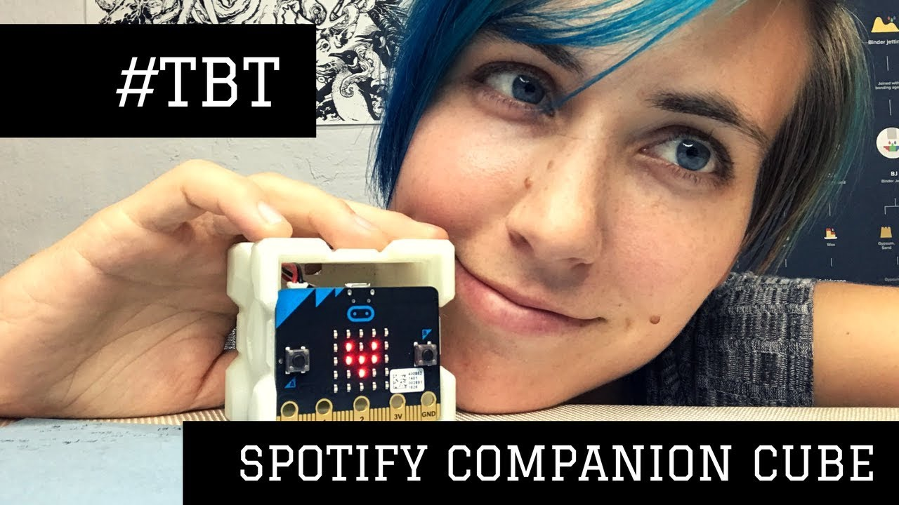 Spotify Companion Cube // #TBT
