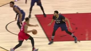 Norman Powell Posterized Anthony Davis! | Pelicans vs Raptors | January 31, 2017